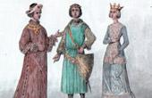 Portrait of Robert Count of Clermont - Robert of France (1256-1317) - Beatrix of Burgundy (1257-1310)