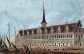 View of Copenhagen - Stock Exchange (Denmark)
