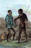 Vanuatu öarna - Tanna Island - Man av Tanna