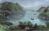 View of the Hudson River - New York (United States of America)