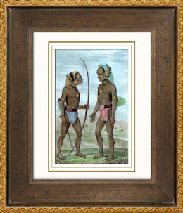 Vanikoro - Portr�ten von Indigen V�lker - Santa-Cruz-Inseln