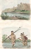 Montagne pr�s de Bahia - Carinhanha - Indiens Botocudos - Groupe ethnique