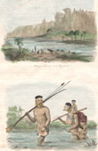 Montagne près de Bahia - Carinhanha - Indiens Botocudos - Groupe ethnique