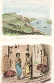View of Rio Negro - Amazon River - Pampas Indians - Ethnic group (South America)