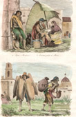 (Mexico) Waterseller - Aguador - Hawker - street vendor - Beggar - Public writer