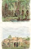 (Brazil) - Feast of  Coroados Indians - San Jos� convent in Rio de Janeiro