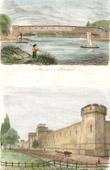 Philadelphia - Pennsylvania (United States) - Covered bridge - View of Jail