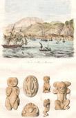 Stich von Saint-Pierre (Martinique - Frankreich) - Antillen - Altsachen
