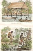 Warrows Indianer (Guyana - Britisch-Guayana) - Indianer (Franz�sisch-Guayana)