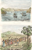 Antilles - U.S. Virgin Islands - Saint-Thomas Bay - Negro Workers - Slave trade (United States of America)