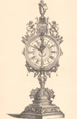 Architecture - Decoration - Clock - 17th Century - XVIIth Century - Germany
