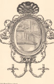 Architecture - Decoration - Mirror - 18th Century - XVIIIth Century - Germany
