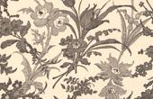 Architektur - Dekoration - Blumen - Federzeichnung - Chinatinte - 18. Jahrhundert - XVIII. Jahrhundert - Frankreich