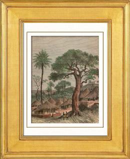 Ansicht von Whydah (Guinea)