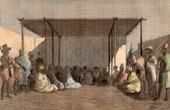 Königliche Gericht - König Ahmadu in Ségou (Mali)