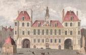 View of Paris - H�tel de Ville - Paris City Hall (France)
