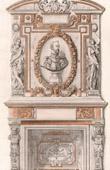 Gaspard II de Coligny - Amiral de Coligny - Hearth - Castle of Villeroi