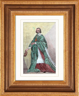 Porträt von Richelieu (1585-1642)
