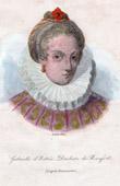 Portrait of Gabrielle d'Estr�e (vers 1570-1599)