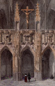 Cathedral of Rodez - Rood Screen (Aveyron - France)