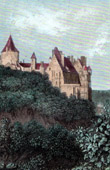 Castle of Ch�teaudun (France)