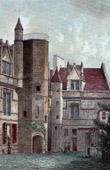 View of Paris - H�tel de Cluny