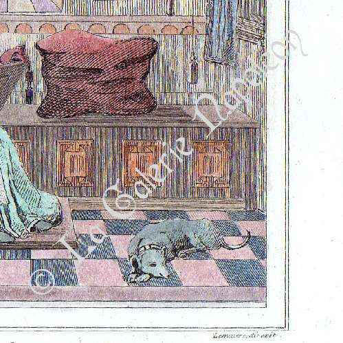 mirrored kitchen cabinets antique prints portrait of ren 233 of anjou 1409 1480 23409