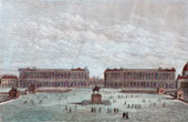 View of Paris - Place de la Concorde - Hôtel du Garde-Meuble de la Couronne (France)