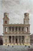 View of Paris - Church Saint Sulpice