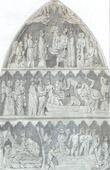 Burial of Dagobert I  (vers 602-vers 639) - Low-relief