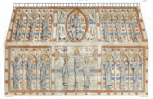 Relikskrin av St Calmin - Abbotskloster av Mozac - XII. �rhundrade