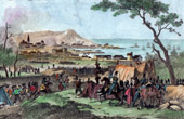 French Revolution - Napoleonic Campaign in Egypt - Ottoman Empire - Capitulation of Malta island - Armee d'Orient (1798)