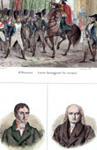 Napoleon Bonaparte, as First Consul - Coup of 18 Brumaire (1799) - Portraits - Lucien Bonaparte (1775-1840) - Louis Gohier (1746-1830)