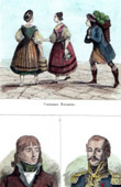 German Costume - German Fashion - Germany - Bavaria - Portraits - Bruneteau de Sainte-Suzanne (1760-1830) - Delmas (1766-1813)