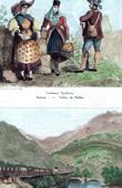 Tyrolean Costume - Tyrolean Fashion - Brixen - Pfafflar - Tyrol (Austria) - Bard Canyon - Alps