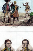 Costume of Moravian peasants (Czech Republic) - Portraits - Chasseloup-Laubat (1805-1873) - Dejean (1780-1845)