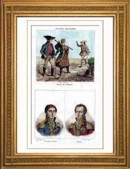 Tracht von bauer in Mähren (Tschechien) - Porträts - Chasseloup-Laubat (1805-1873) - Dejean (1780-1845)