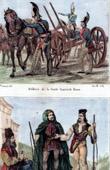 Russische Tracht und Kleidung - Milit�rkleidung - Kaiserliche Garde (Russland) - Tracht von Niederungarn