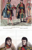 Coronation of Napoleon I - Costume of the coronation - Marshal of the Empire - Constable Portraits - Murat (1767-1815) - J�r�me Bonaparte (1784-1860)