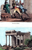Assassination of Kléber (1800) - Napoleonic Campaign in Egypt - Héliopolis - Temple - Egypt