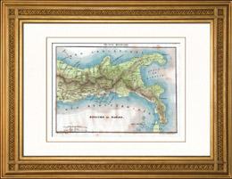 Map - Kingdom of Naples - Italy