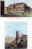 View of Milan - Serbelloni Palace - Lake Maggiore - Lago Maggiore - Lago Verbano - Isola Bella (Italy)