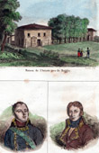 Ludovico Ariosto's House near Reggio (Italy) - Portraits - Macdonald (1765-1840) - Monnier (1758-1816)