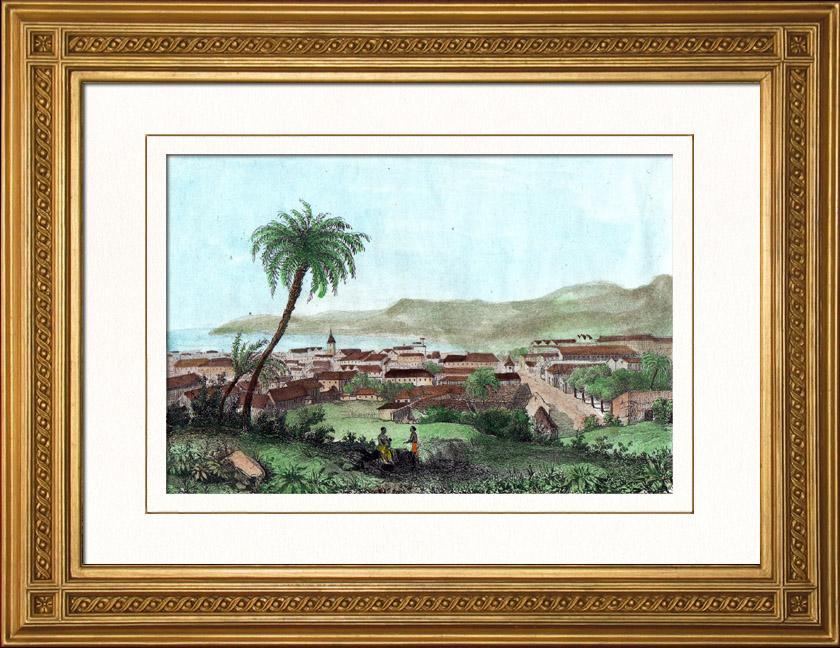 Aparador Suspenso Mercado Livre ~ Gravuras Antigas Cabo Franc u00eas Cabo Haitiano Porto