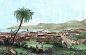 Stich von Cap Français - Cap-Haïtien - Port-au-Prince - Santo Domingo