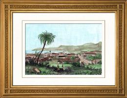 Cap Fran�ais - Cap-Ha�tien - Port-au-Prince - Santo Domingo