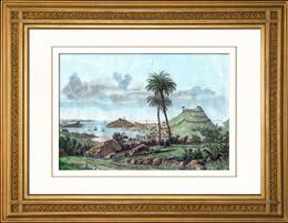 Ansicht von St. George's - Grenada - Antillen