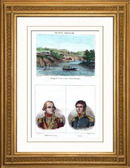 Sikte av Santo Domingo (Dominikanska republiken) - Portr�tts - Villaret de Joyeuse (1747-1812) - Achille Lecl�re (1785-1853)