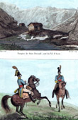 Great St Bernard Hospice - Alps (Switzerland) - Military Uniform - Chevau-L�gers - Bavaria - Cavalry
