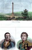 Napoleon I - Column of the Grande Arm�e - Boulogne-sur-Mer (France) - Portraits - Bruix (1759-1805) - Soult (1769-1851)